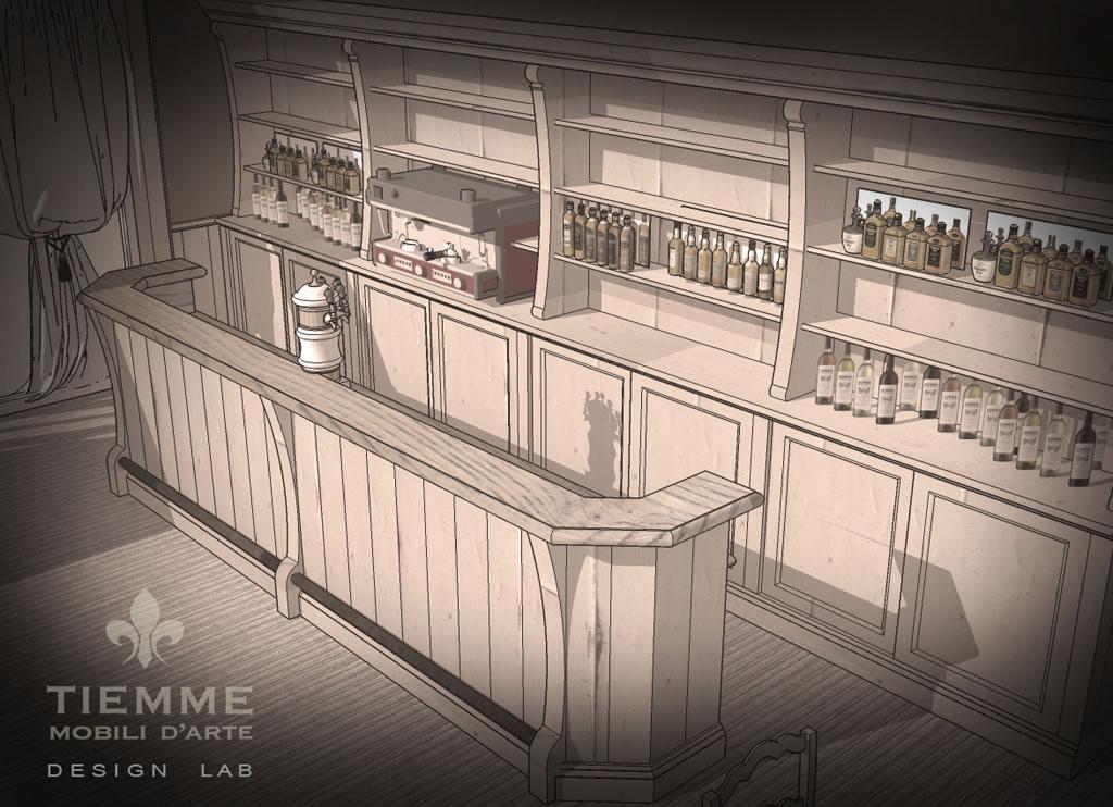 Pequeña Tienda banco bar