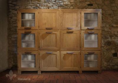 12 Masseria grande dispensa vetri