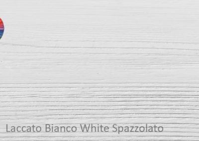 24 Laccato Bianco spazzolato