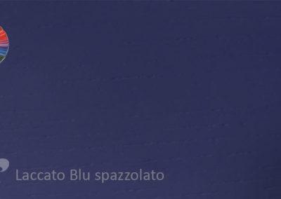 31 Laccato Blu spazzolato