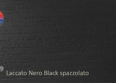 32 Laccato Black spazzolato