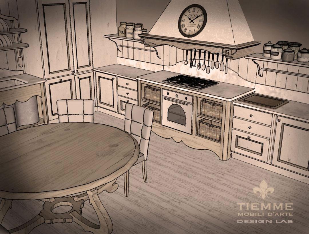 Fienile con cucina Casale