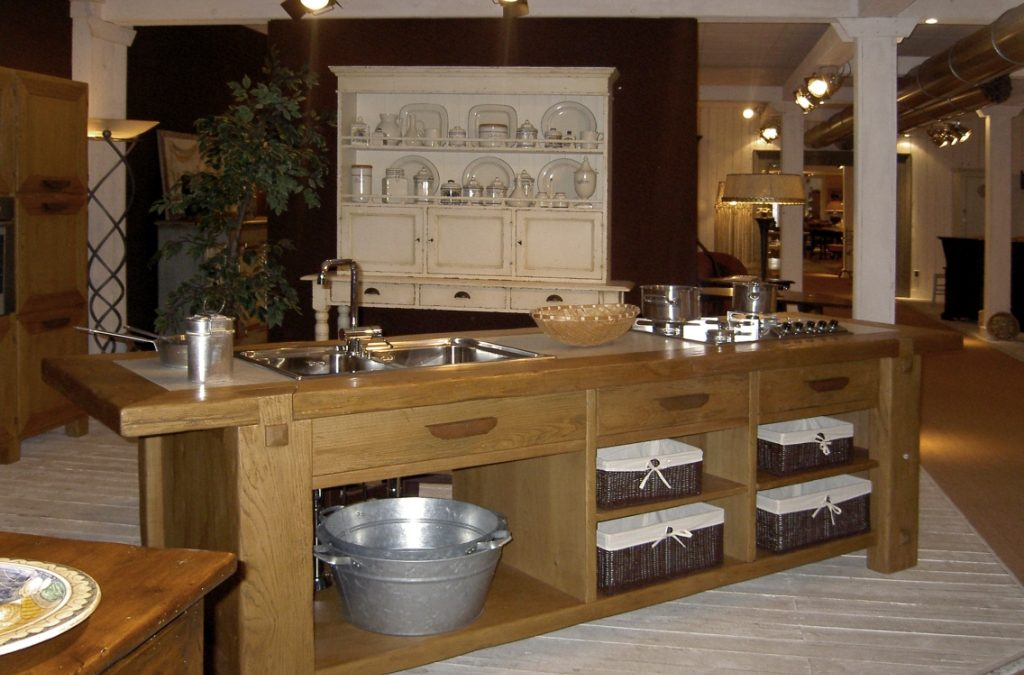 Masseria Original in show room Tiemme